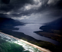 New River Lagoon and Prion Beach, South Coast Tasmania